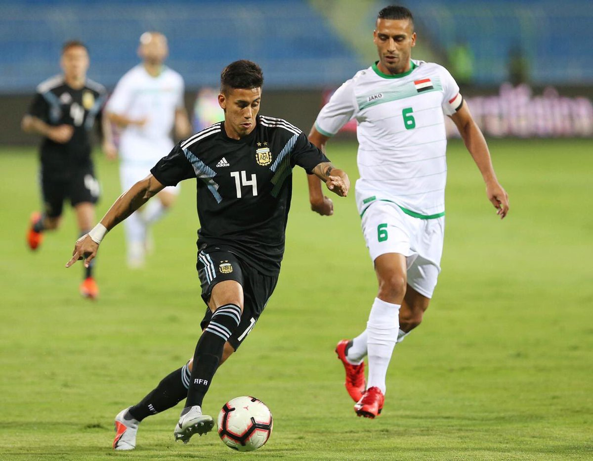 Iraq lose to Argentina in friendly match