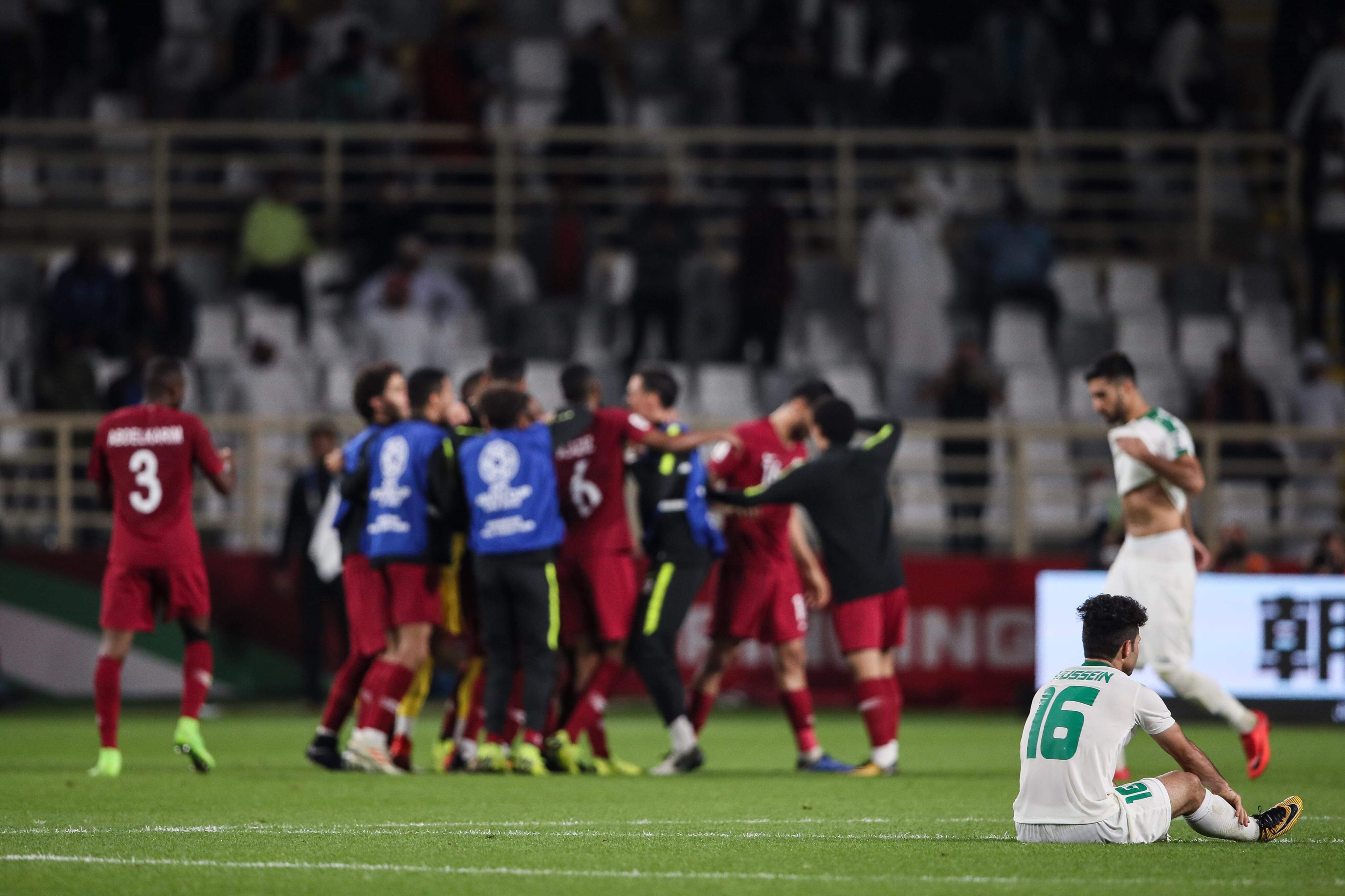 Iraq knocked out of the Asian Cup by Qatar