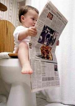 Poop and Newspapers