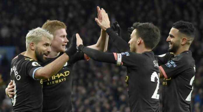 images 32 - Sergio Aguero Breaks Two Premier League Records With Hat-Trick Vs Aston Villa