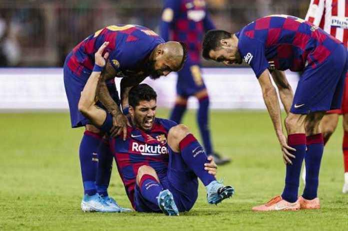 images 34 - Luis Suarez Set To Miss Rest Of Barcelona Season After Knee Surgery
