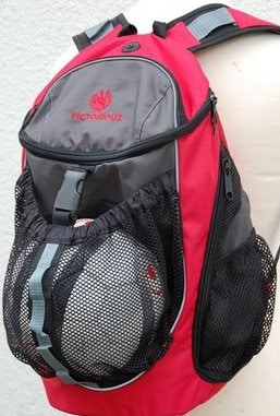 Victoriouz URBAN Ball Back Pack i Rød