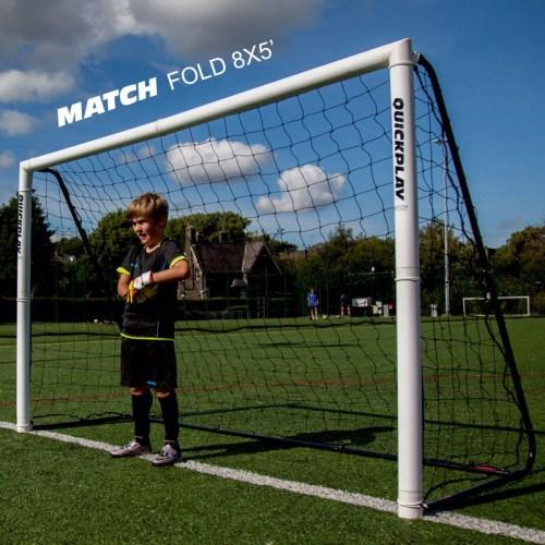 1 stk Fodboldmål Quickplay Match fold 244 x 152 cm