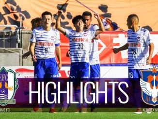 9174 - アルビレックス新潟は本間の鮮やかなゴールで愛媛FCを下す