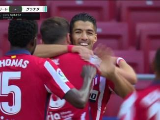 2 - バルセロナから加入のスアレスが移籍後初戦で2ゴール!アトレティコマドリードはグラナダに圧勝