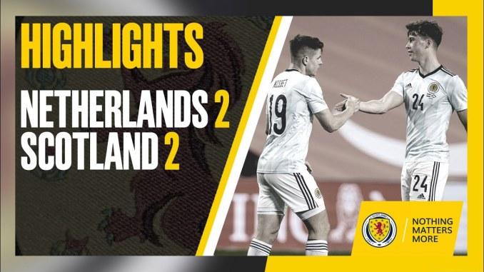 2021 - 国際親善試合2021スコットランド代表にリードされる展開もFWメンフィス・デパイの2ゴールによりオランダ代表はドロー決着で終える