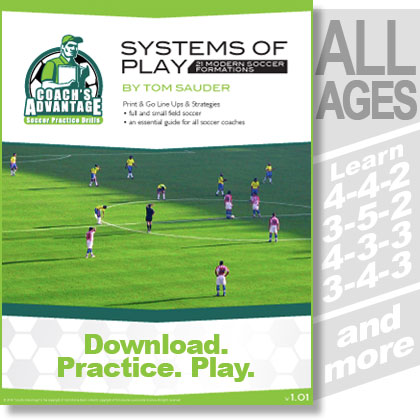 Systems of Play. All Ages. Learn 4-4-2, 3-5-2, 4-3-3, 3-4-3, and more.