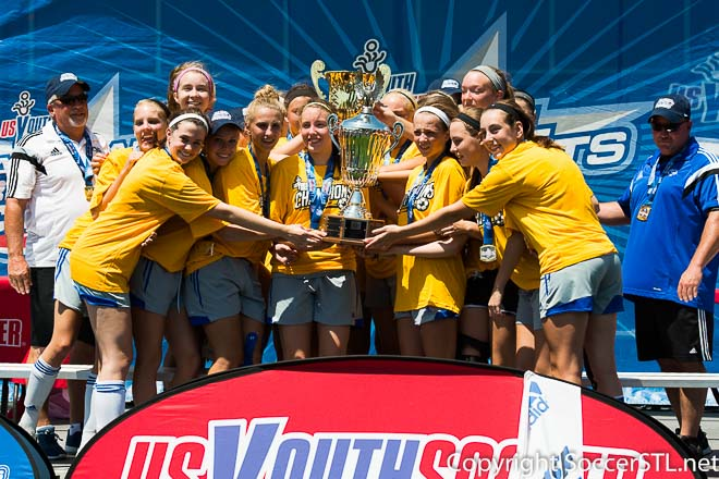 Missouri Rush Capture U16 Girls National Presidents Cup Title