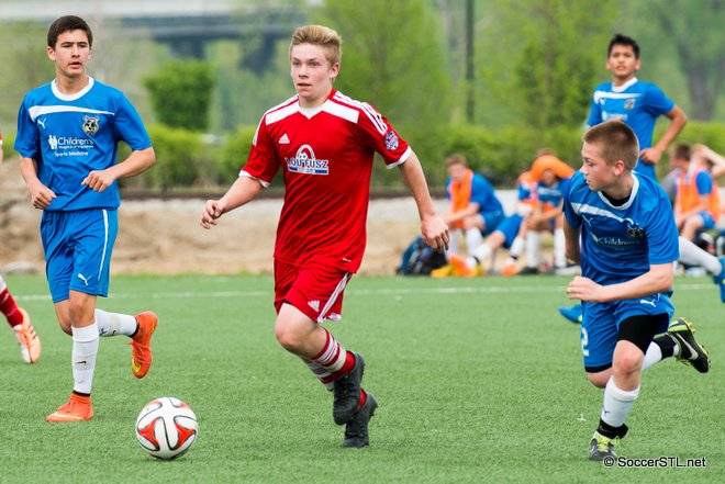 SC Waukesha Earns a Point at Lou Fusz Geerling in MRL U14B