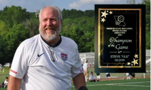 Missouri High School Soccer Coaches Honor SoccerSTL Founder