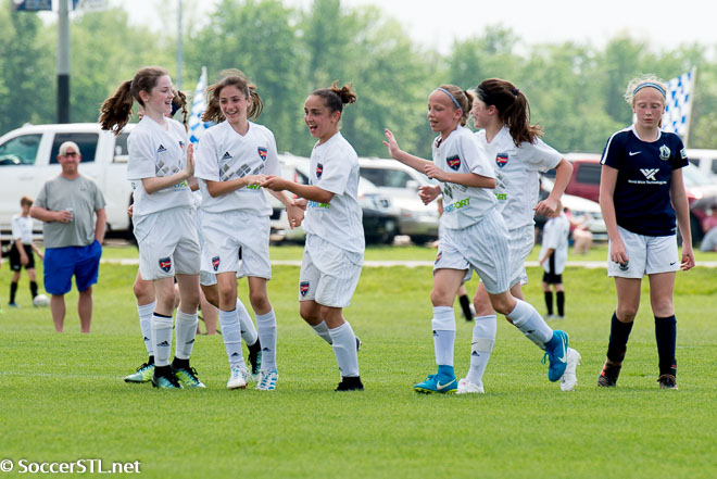 Sporting STL 2006 Academy Girls Capture Mother's Day Classic Title