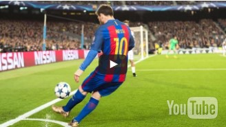Lionel Messi Sucks Corners