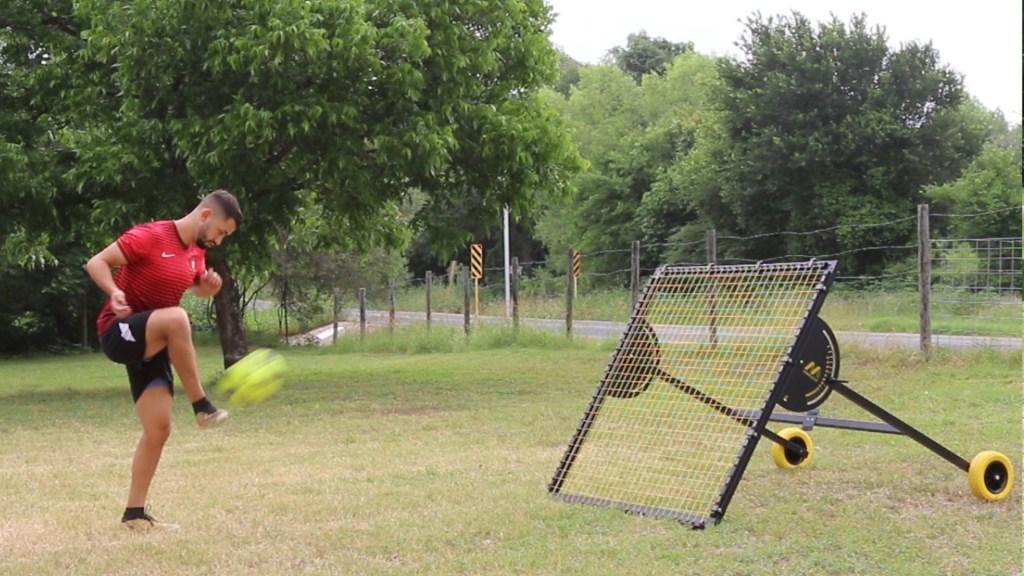 soccer rebounder drills