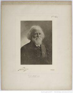 [Elisée Reclus] / Nadar, 1903, Fond de la Société de Géographie, Bibliothèque nationale de France, département des Cartes et plans