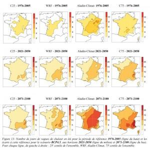 Document n°2 : Les vagues de chaleur estivale (fig. 13 du rapport)