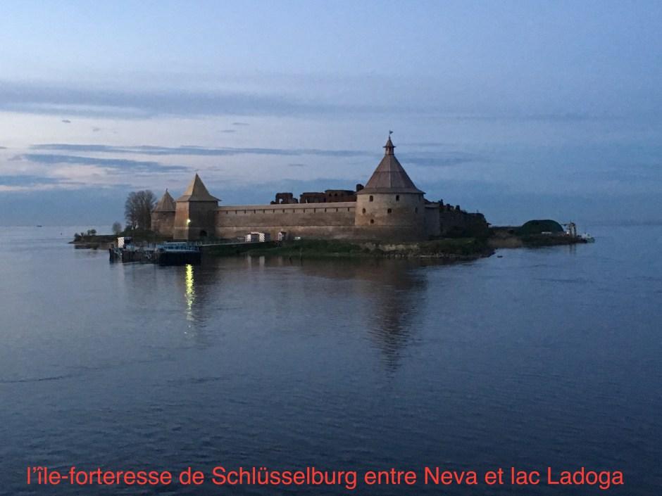(7) L'île-forteresse de Chlisselbourg-Bernier
