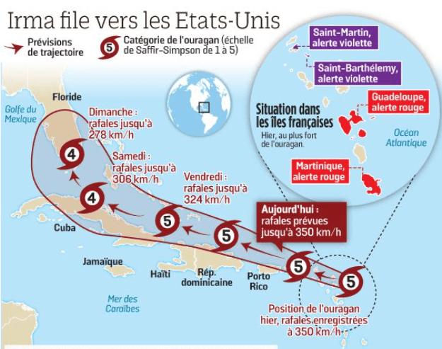 Irma file vers les USA-2