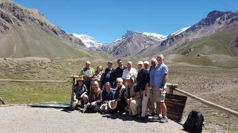Aux pieds de l'Aconcagua et ses 6 962m _ Photo de Rémy