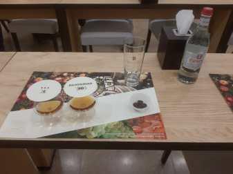 Dégustation du Cognac Ararat (3 ans et 5 ans).