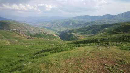 Col de Sélim point de passage d'une Route de la Soie