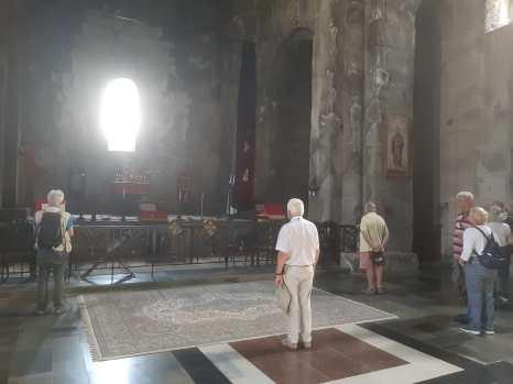 L'église Saints Pierre et Paul du monastère de Talev.