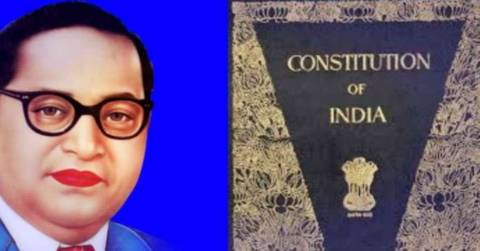 डॉ भीमराव अंबेडकर ने 2 वर्ष 11 माह 18 दिन में भारत का संविधान बना डाक.