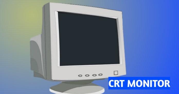 CRT MONITOR an output machine
