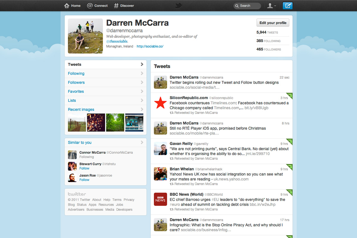Twitter introduces major redesign, here's how to get it now on New Get Design  id=66961