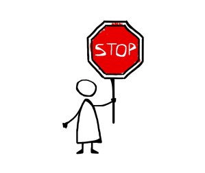 stop, drawing, icon