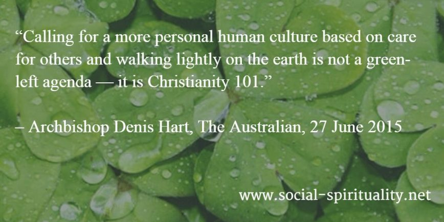 Laudato Si Defended by Archbishop Hart
