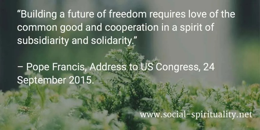 Pope Francis' Address to US Congress