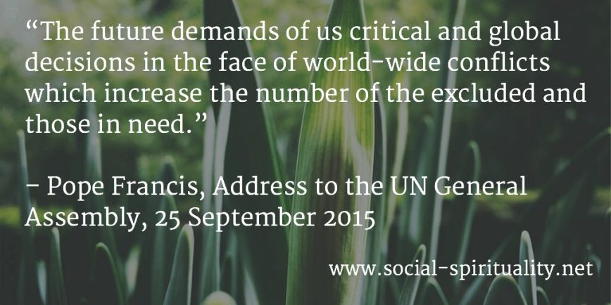 Pope Francis Addresses the UN General Assembly