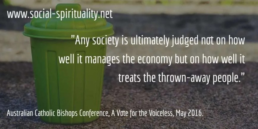 Election 2016 – Australian Bishops Urge Vote for the Voiceless