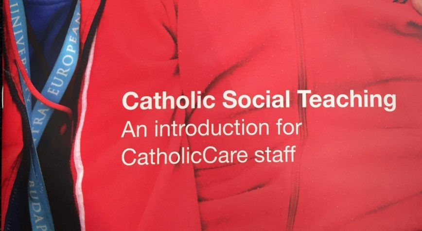 CatholicCare Staff Introduced to Catholic Social Teaching