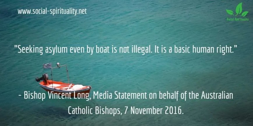 Australian Bishop Blasts Cruel Refugee Measures