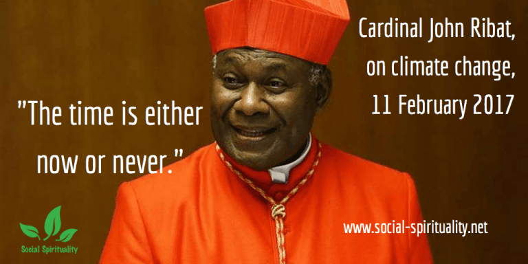 We Have to Talk About Climate Change – Cardinal Ribat
