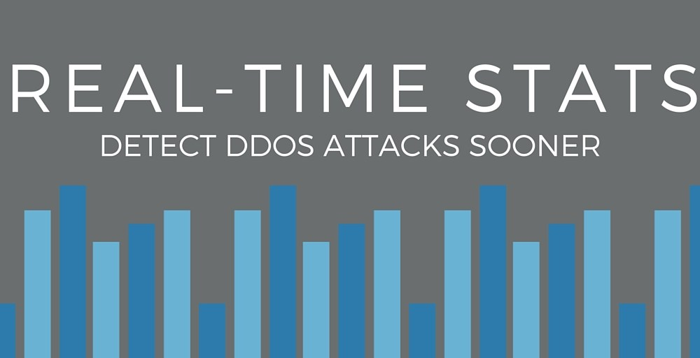 Real-Time Stats fighting DDoS