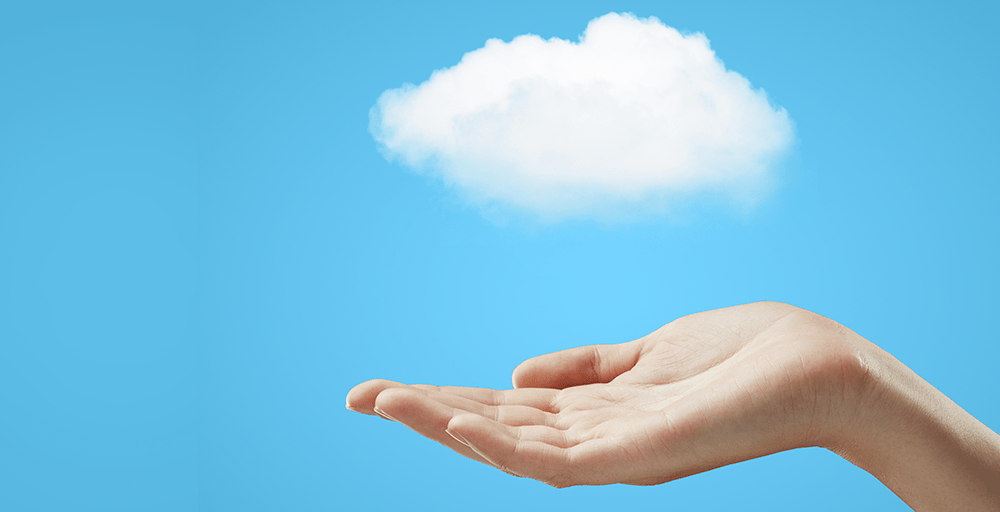 Cloud in hand