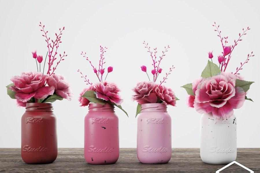 室内装饰花瓶 SketchUp