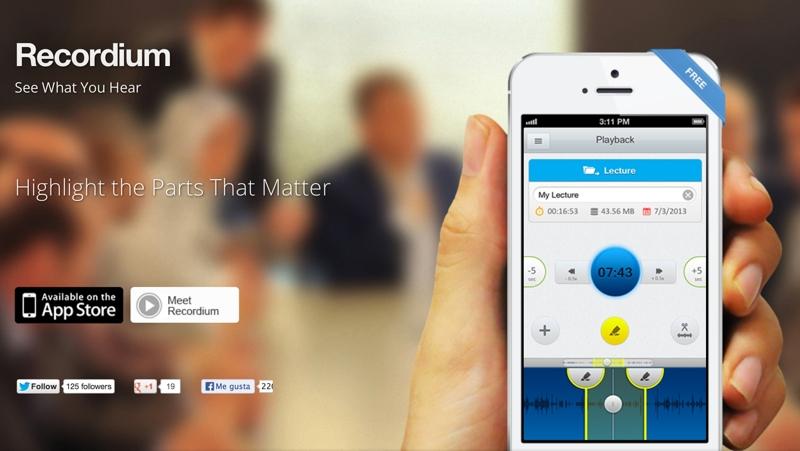Recordium app para Community Managers