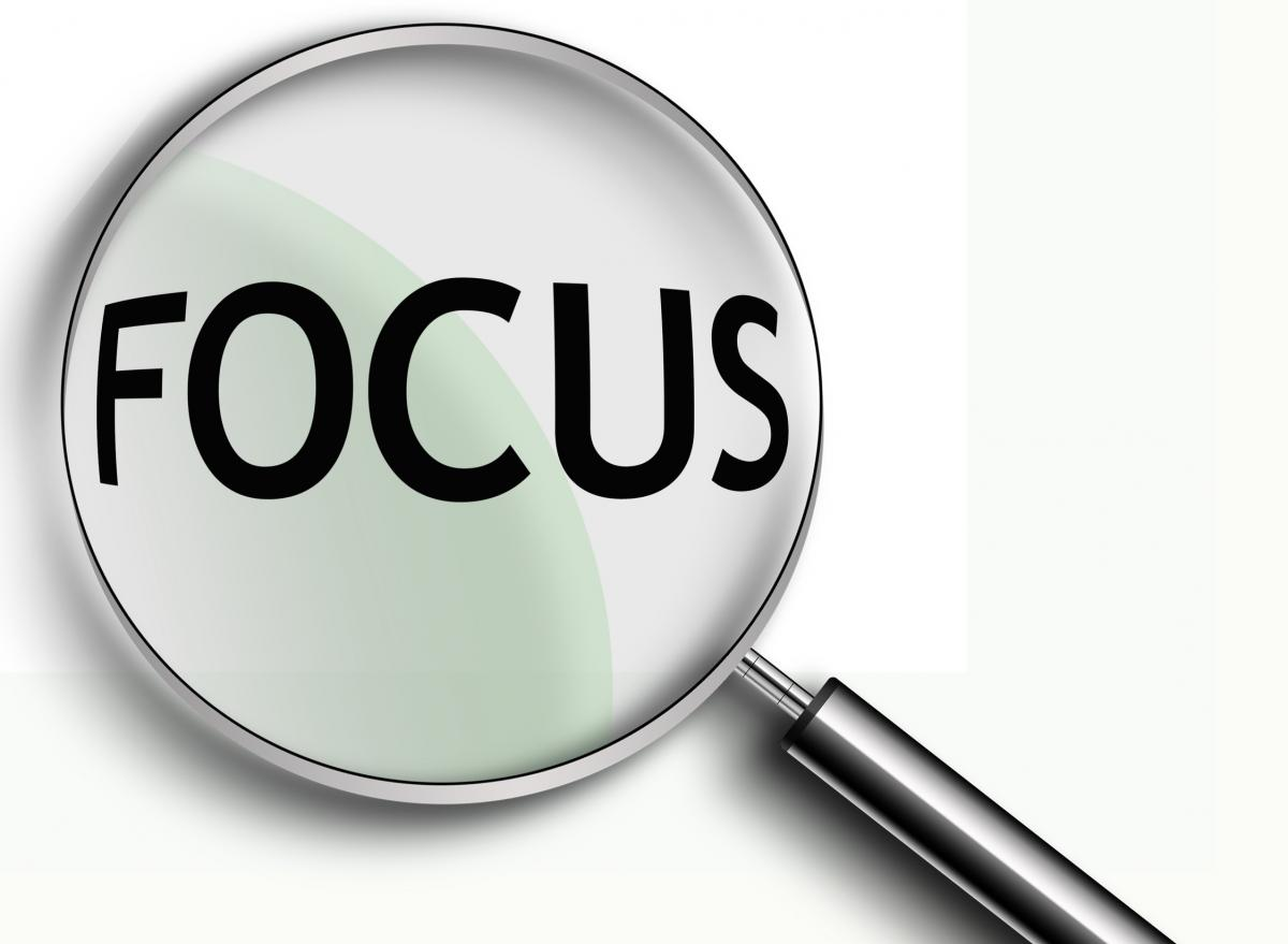 Focus Externally