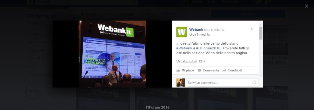 webank trading forum Rimini