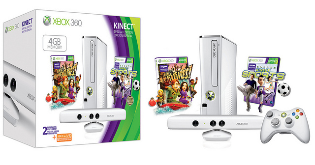 Best Buy, GameStop Will Sell $99 4GB Xbox 360 Kinect Bundle
