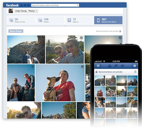 Facebook Photo Sync Now On Android And iOS