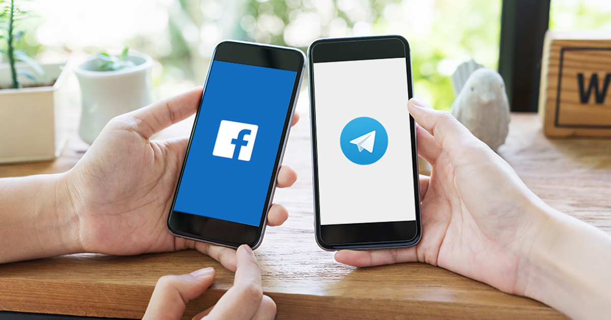 facebook-and-telegram