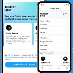 Twitter launches its paid subscription service Twitter Blue