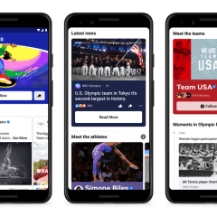 Facebook rolls out new feature across its apps to connect people with the Olympics