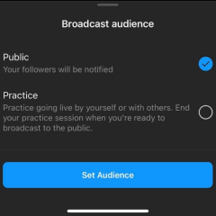 Instagram is working on 'select broadcast audience' feature