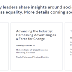 Facebook to hold sessions at this year's Advertising Week