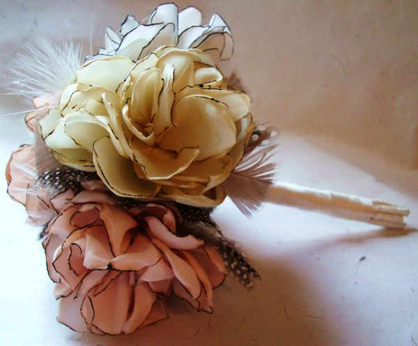 Creative Wedding Bouquets And DIY Ribbon Bouquet